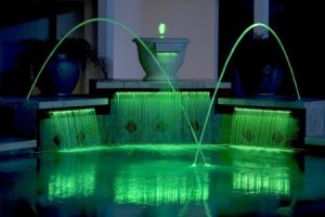 Lighted Water Fountain
