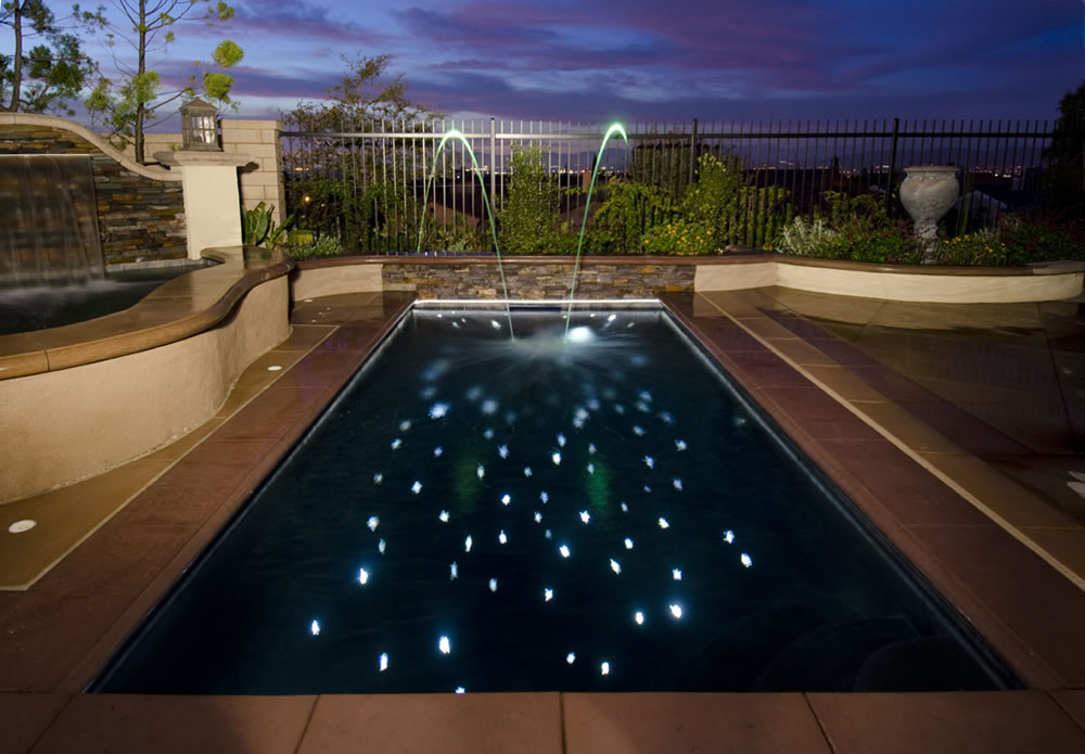 The Rajan Pool & The Rajan Pool | Inground Pool Lights