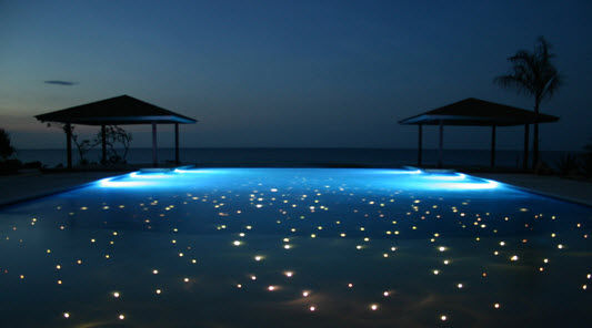 beautiful fiber lighting beautiful lighting pool