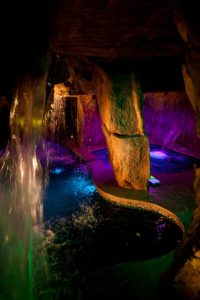 Enchanting Shimmering Inside Grotto