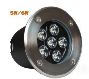 Warm White CE RoHS 5W LED Inground Pool Lights