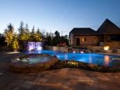 Nature Inspired Swimming Pool, Edgewater Estate, OK
