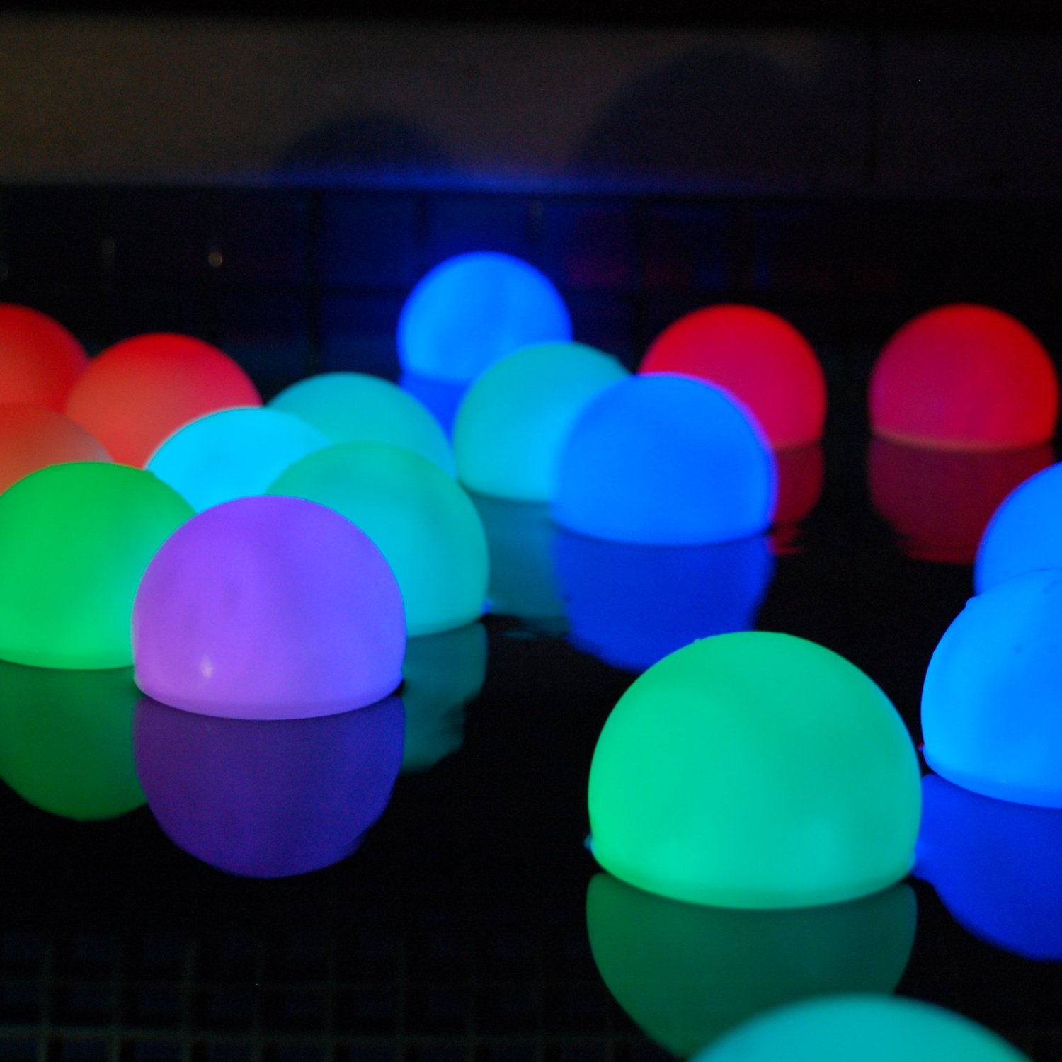 Mood Light Garden Deco Balls - Inground Pool Lights