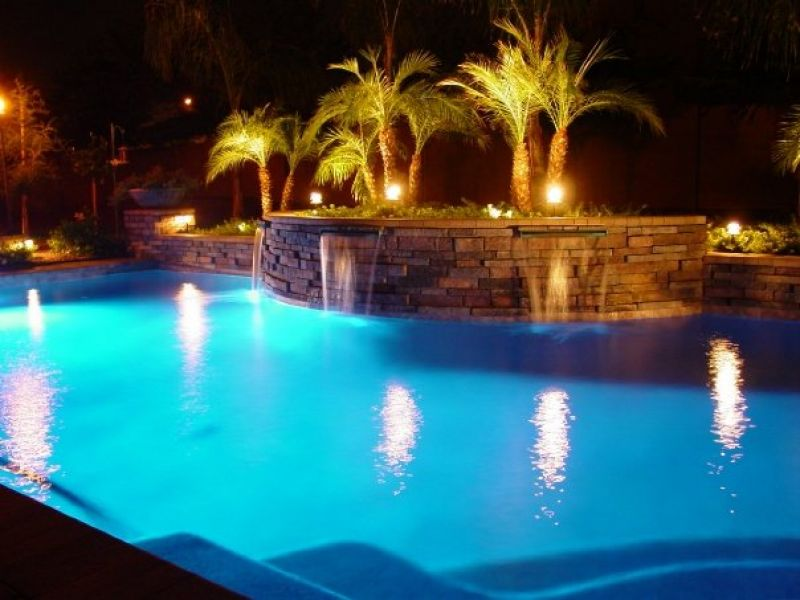 Solar Pool Lights - Inground Pool Lights